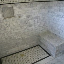 bathroom with brick shower 87 800 600 80